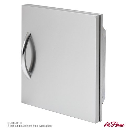 CalFlame BBQ10839P-18-A 18-Inch Single Access Door