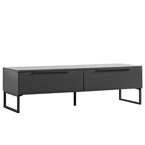 mokebo® TV Board 'Der Tiefergelegte', minimalistischer Fernsehtisch & Lowboard, Made in Germany | 141x42x49 (B/H/T in cm)