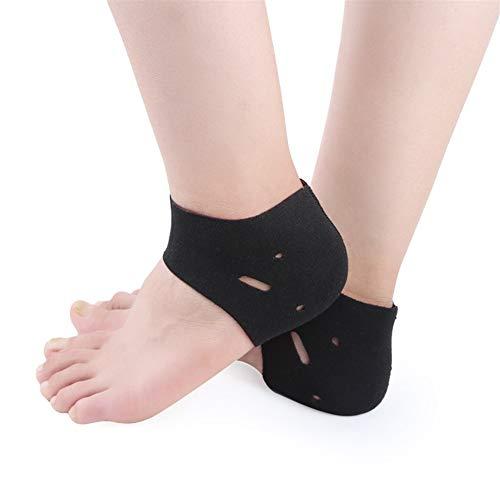 Cielo estrellado 2pcs Fascitis Plantar Tratamiento con Vendas del pie Heel el Alivio del Dolor de la Manga Protege calcetín Tobillera Ayuda de Arco ortopédicos Plantilla