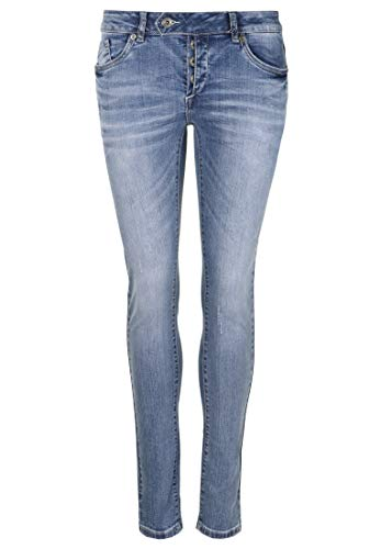 Blue Monkey Damen Jeans Ruby 10451 Stickereien