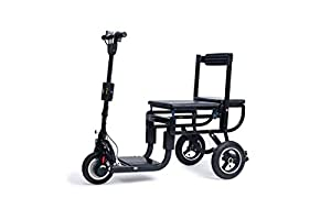 eFoldi Lite Mobility Scooter Manual Fold Weighs 15kg Suitcase Scooter