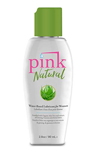 PINK NATURAL - Natural Water-Based Lubricant (2.8 fl. oz.)