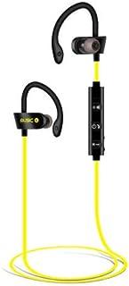XuBa Bluetooth Earphones Wireless Headphones Earbuds Sports Gym for iPhone Samsung Yellow