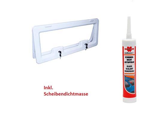 inkl Schlie/ßung 840x345 mm 3 Gr/ö/ßen zur Auswahl Staufachklappe Weiss wamovo Wohnwagen /& Wohnmobil Serviceklappe