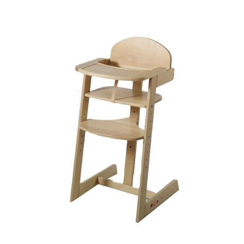 Schardt hoge stoel Maxim (natuur)