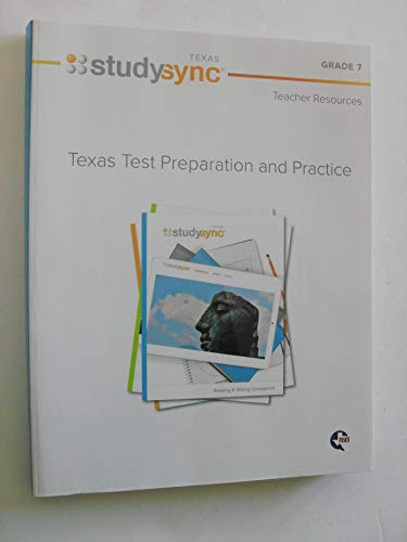 texas stydysync test preparation and practice teacher resources grade 7 {350 pages} [9781944695576] (paperback)