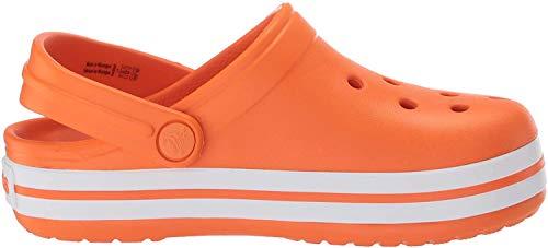 Crocs Kinder Crocband Clog K 204537-810 Badelatschen Orange 27/28 EU (10 UK)