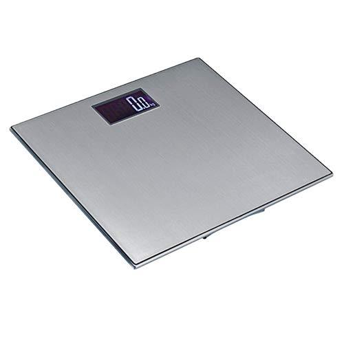 Cakunmik Escala de Peso Corporal, de Acero Inoxidable LCD balanza Digital Inteligente, no Pesa impedancia para Les Maisons