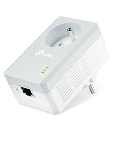 TP-Link TL-PA4015P Enchufe Frances Sin señal WiFi Solo velocidad por línea eléctrica. AV600 Puerto Fast Ethernet