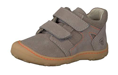 RICOSTA Mixte Enfant Bottes & Boots Ronny 1222300, Fille,Garcon Bottes Classiques,Bottes à Velcro,Tundra/kies,23 EU / 6 UK