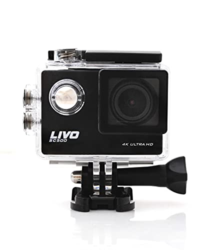 LIVO 4K Action Camera with WiFi, 16…
