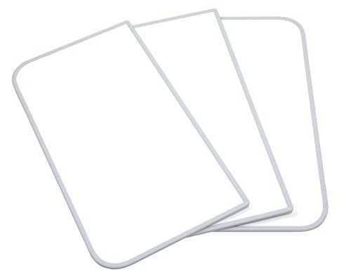 東プレ アルミ組合せ式風呂ふた センセーション(3枚割) L16 ホワイト/ホワイト 73×158cm