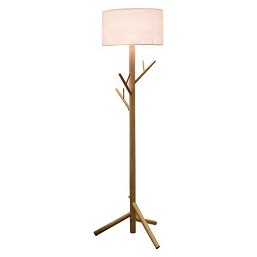 BTPDIAN Sala de Estar del Hotel ins Creative IKEA sofá Mesa de café LED lámpara de pie Americana (Color : Linen)