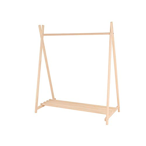 LXDLJ Houten 5 Tier Wandrek, Premium Display Ladder Boekenkast, Glad oppervlak Leaning Shelf Unit met Grote Opslagruimten voor Bloemenplanten Speelgoed Boek, Indoor Meubels