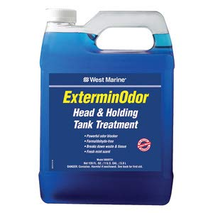 West Marine ExterminOdor Head and Holding Tank Treatment Toilet Cleaner (Gallon)