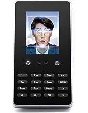 Escáner de huellas dactilares Facial biométrico de la máquina del tiempo Lector independiente electrónica Cara Equipo de Reconocimiento del registrador del reloj digital Reloj de tiempo para empleados