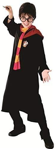 Fantasia Harry Potter infantil luxo Grifinória Sulamericana M 5-8