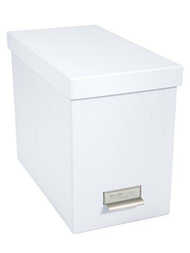 Bigso Box of Sweden 944145544 -Panel portacarpetas de Fibra de Color Blanco (35x 18,5x 27cm)