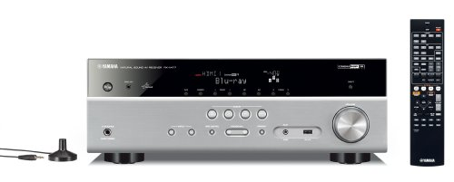 Yamaha RX-V477 AV-Receiver (5.1-Kanal, 115 Watt pro Kanal, HDMI, Airplay,...