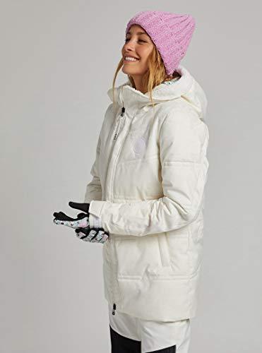 Burton Larosa Puffy Stout White Damen Skijacke Weiß S weiß