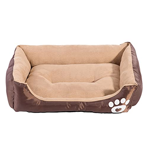 Lsdnlx Pet dog,Dog Bed Warm Beds For Dogs Waterproof Bed Dog Soft Pet Bed For Dogs Washable House Cat Bed