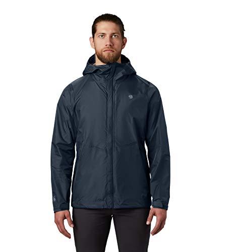 Mountain Hardwear Men's Standard Acadia Jacket, Dark Zinc, Large