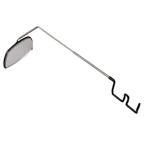 Maifa Espejo para gafas de bicicleta, aleación de aluminio, espejo de equitación, vista trasera, soporte para casco, accesorios para bicicleta para ciclismo en carretera de montaña seguro