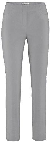 Stehmann LOLI-742 Silber, Bequeme, stretchige Damenhose, mit etwas schmalerem Beinverlauf. 36