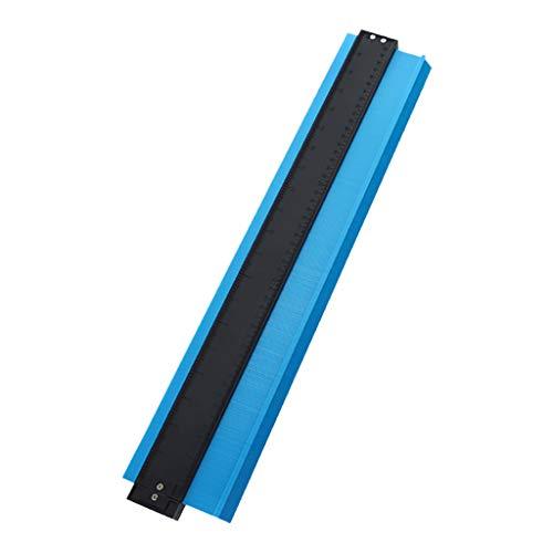 Transwen Konturenlehre – Markierwerkzeuge Duplikator zum Übertragen von Konturen & Schnittverläufen – Ideal für Laminat, Fliesen uvm. – 500mm (20 Zoll)