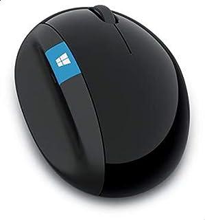 Microsoft L6V-00004 Wireless Sculpt Ergonomic Mouse - Black