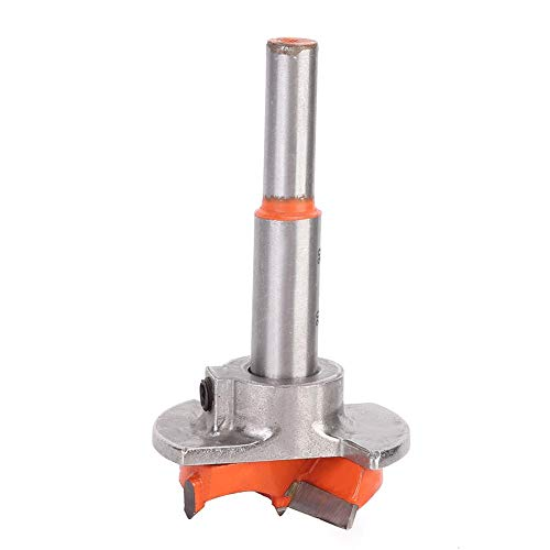 Broca Forstner de posicionamiento ajustable, abridor de orificios de bisagra para carpintería, broca perforadora para sierra de madera(25mm)