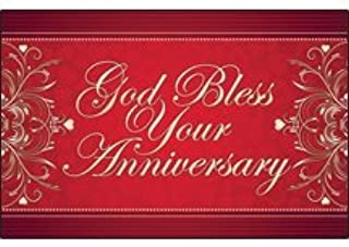 Postcards Anniversary God Bless Your Anniversary (Pkg of 25)