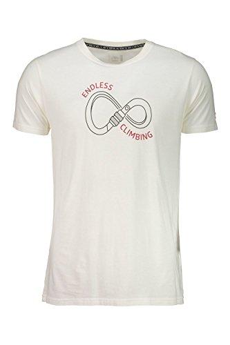 Maloja Wiesen T-Shirt à Manches Courtes, Homme, Beige, M