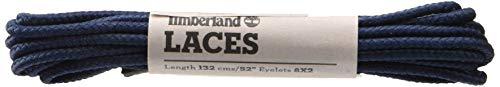 Timberland Round Nylon Laces 52-Inch, Cordones de zapatos Unisex Adulto, Azul (Navy), Talla única
