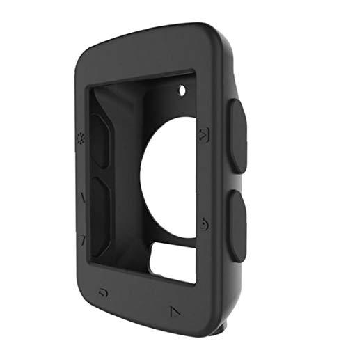 Caso código de la Tabla de protección de Bicicletas Reloj de Silicona Código Caja de la Tabla de la Cubierta Accesorios del teléfono para Garmin Edge 520 (Negro)