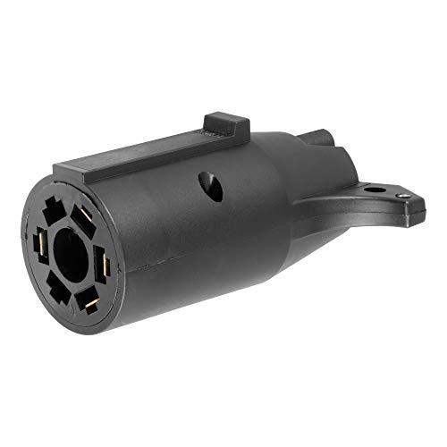 CURT 57240 7-Way RV Blade Vehicle-Side to 4-Way Flat Trailer Wiring Adapter