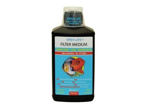 Easy Life Flüssiges Filtermedium, zum Entchloren von Aquarien, 500ml, 3er-Pack