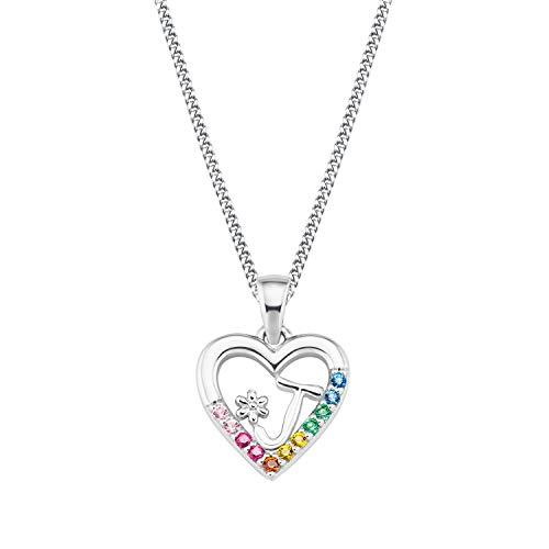 Prinzessin Lillifee Silber Kinder-Halskette Herz J 2027883
