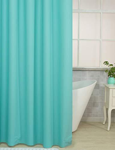 Plastic Shower Curtain, 36 x 72 Inches EVA 8G Shower Curtain...