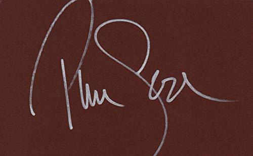 Pierce Brosnan autografo da collezione in pollici con certificato di autenticità