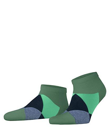Burlington Herren Clyde Sneakersocken, grün (Khaki Green 7746), 40-46