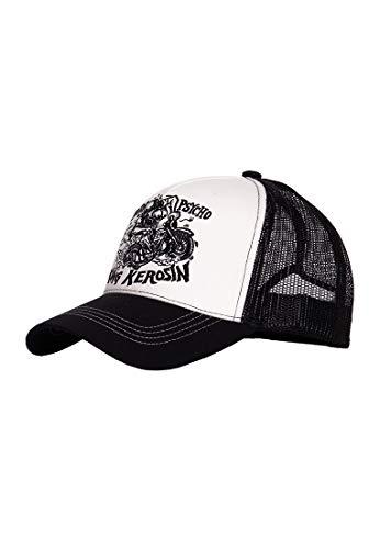 King Kerosin Herren Trucker Cap | Mesh Cap | Stickerei Motorpsycho