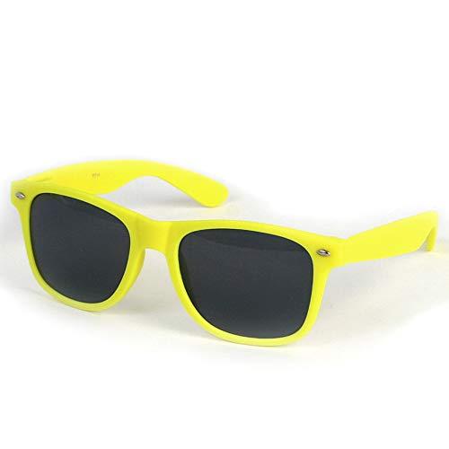 Neon Yelloe Sunglasses with Soft Sprint Hinge