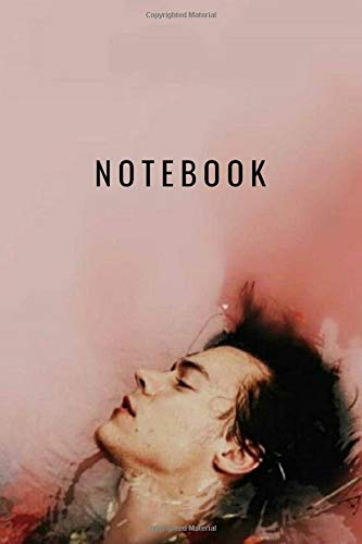 Harry Styles Notebook and Journal Perfect for Birthday gifts and Fan club members: perfectly Lined journal with 140 pages , 6x9 inches