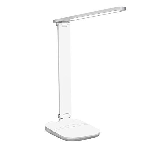 Ys-s Personalización de la Tienda Escritorio Recargable Claro 3 Modo Dimmable Dimmable Toque Lámpara de Mesa Lámpara de Mesa USB Lámpara de Escritorio Regulable