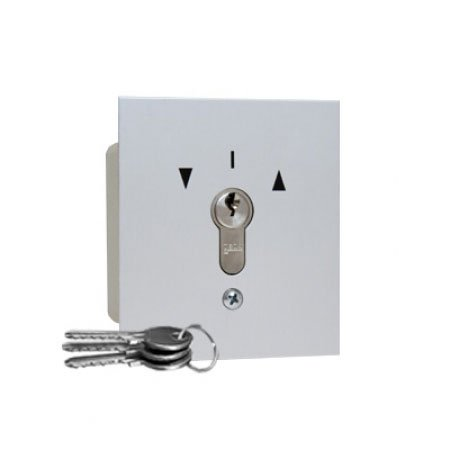 Schlüsseltaster, eingebaut, hoch/runter