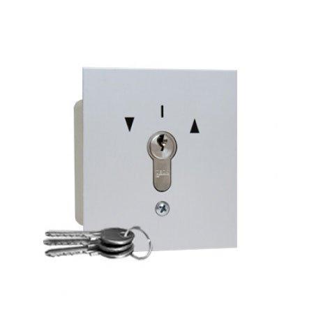 Geba - Interruptor de llave empotrable (subida y bajada)