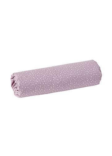 Vertbaudet Kinder-Spannbettlaken Kleine Fee violett 90x200
