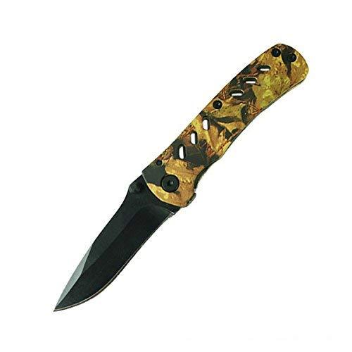 g8ds® Mini Taschenmesser im Camo-Design mit Schwarzer Klinge