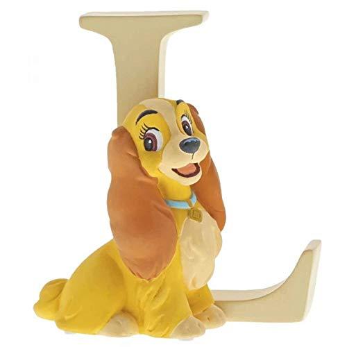 """Enchanting Disney , Figura de Dama """"La Dama y el Vagabundo"""" y """"L""""(Lady), Para coleccionar, Home Deco, Enesco"""
